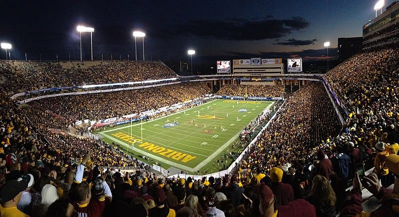 100+ Biggest College Football Stadiums in the Country